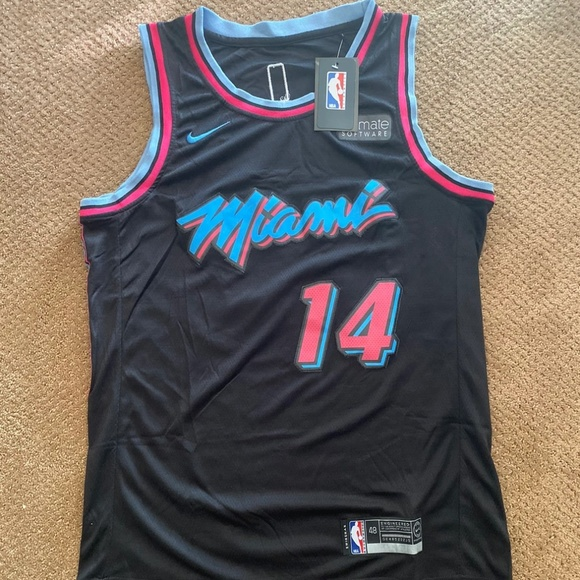 Shirts Tyler Herro Nike Miami Vice Heat Jersey Poshmark